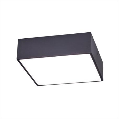 Потолочный светодиодный светильник Citilux Тао CL712X122N, LED 13W 4000K 1080lm, черный, пластик