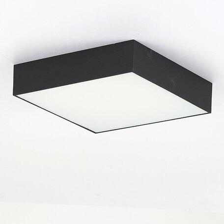 Потолочный светодиодный светильник Citilux Тао CL712X182N, LED 18W 4000K 1620lm, черный, пластик