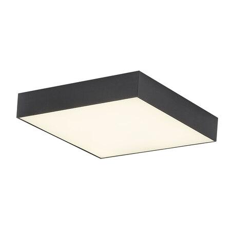 Потолочный светодиодный светильник Citilux Тао CL712X242N, LED 24W 4000K 2160lm, черный, пластик