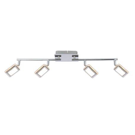 Потолочный светодиодный светильник с регулировкой направления света Globo Trystan 56223-4 3000K (теплый), металл, пластик