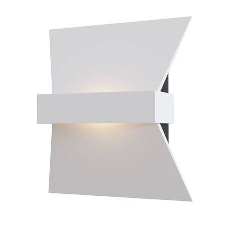Настенный светодиодный светильник Maytoni Trame C805WL-L7W, LED 7W 3000K 380lm CRI84, белый, металл