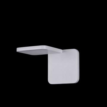 Настенный светодиодный светильник Maytoni Trame C807WL-L7W, LED SMD 2835 7W 3000K 350lm CRI84, белый, металл, стекло - миниатюра 2