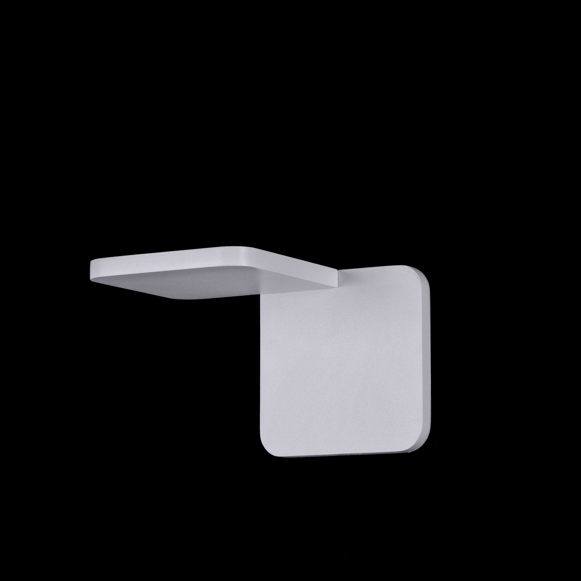 Настенный светодиодный светильник Maytoni Trame C807WL-L7W, LED SMD 2835 7W 3000K 350lm CRI84, белый, металл, стекло - фото 2