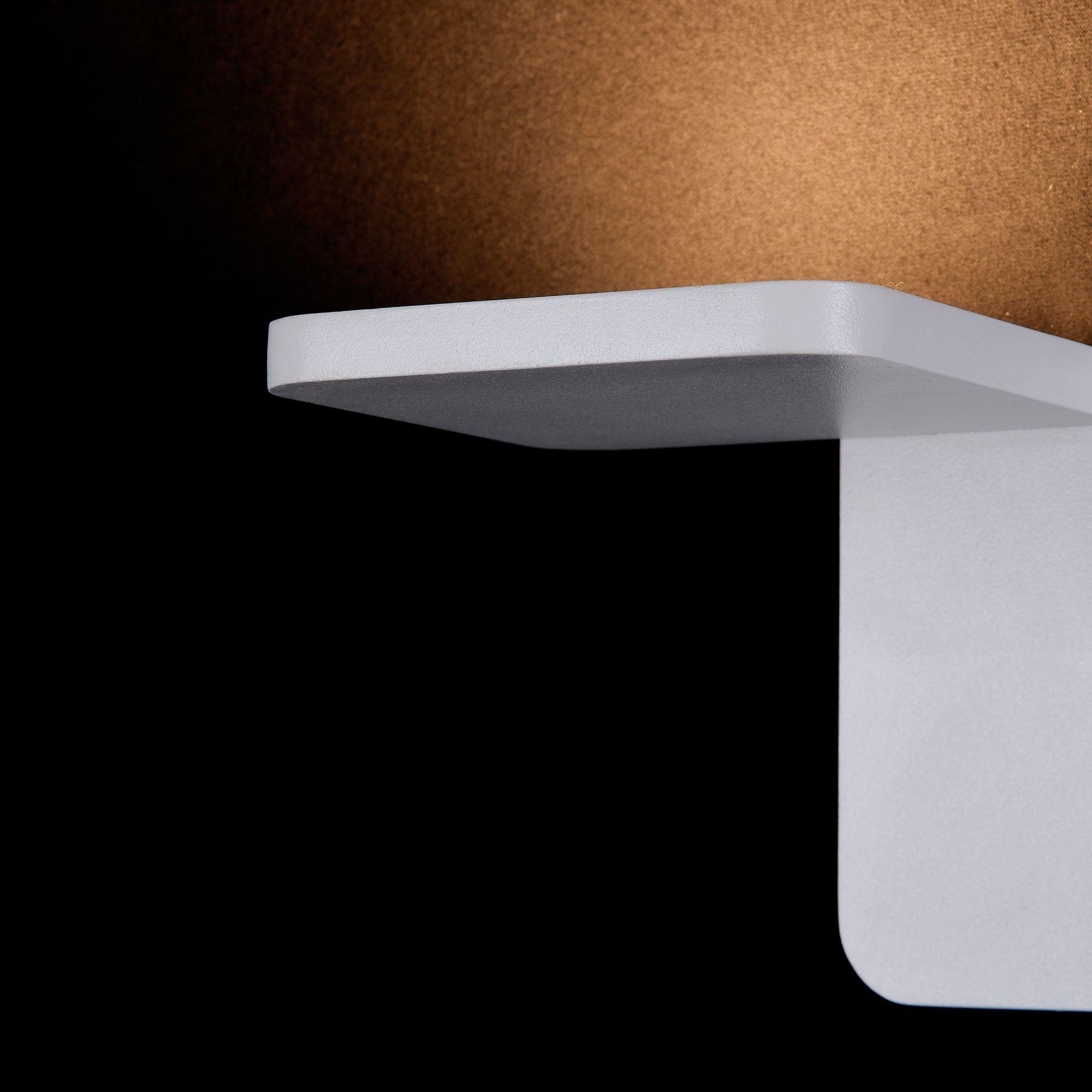 Настенный светодиодный светильник Maytoni Trame C807WL-L7W, LED SMD 2835 7W 3000K 350lm CRI84, белый, металл, стекло - фото 5