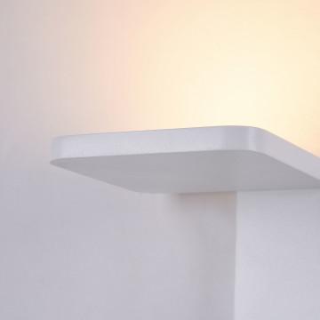 Настенный светодиодный светильник Maytoni Trame C807WL-L7W, LED SMD 2835 7W 3000K 350lm CRI84, белый, металл, стекло - миниатюра 7