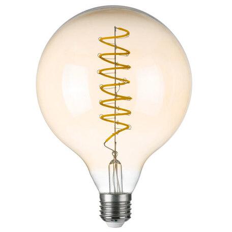 Филаментная светодиодная лампа Lightstar LED 933302 шар E27 8W, 3000K (теплый) 220V, гарантия 1 год