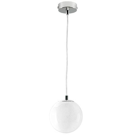 Подвесной светильник Lightstar Dissimo 803112, 1xE27x40W, хром, белый, металл, стекло