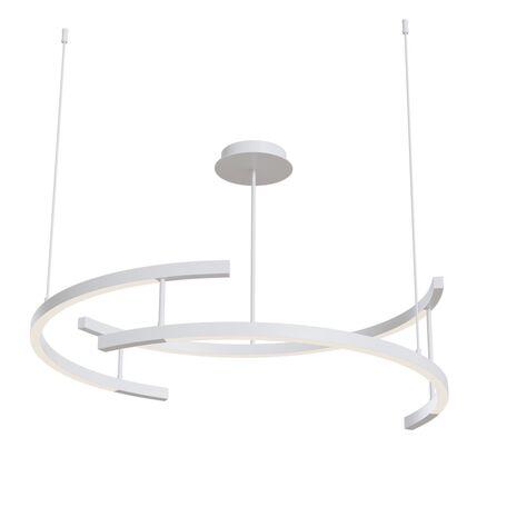 Подвесной светодиодный светильник Maytoni Line MOD054PL-L52W3K, LED 52W 3000K 2000lm CRI80, белый, металл