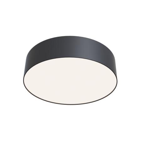 Потолочный светодиодный светильник Maytoni Zon C032CL-L32B4K, IP22, LED 32W 4000K 3100lm CRI90, черный, металл с пластиком, пластик с металлом