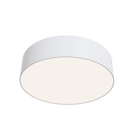 Потолочный светодиодный светильник Maytoni Zon C032CL-L32W4K, IP22, LED 32W 4000K 3100lm CRI90, белый, металл со стеклом/пластиком