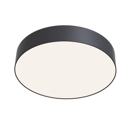 Потолочный светодиодный светильник Maytoni Zon C032CL-L43B4K, IP22, LED 34W 4000K 3900lm CRI90, черный, металл с пластиком, пластик с металлом