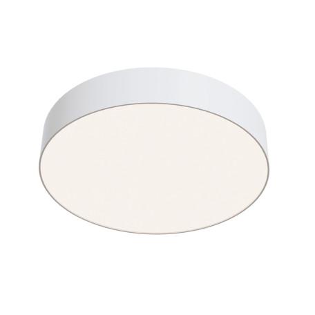 Потолочный светодиодный светильник Maytoni Zon C032CL-L43W4K, IP22, LED 34W 4000K 3900lm CRI90, белый, металл со стеклом/пластиком