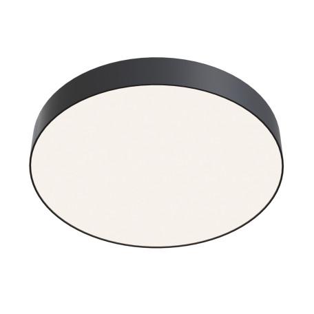 Потолочный светодиодный светильник Maytoni Technical Zon C032CL-L48B4K, IP22, LED 44W 4000K 4200lm CRI90, черный, металл с пластиком, пластик с металлом