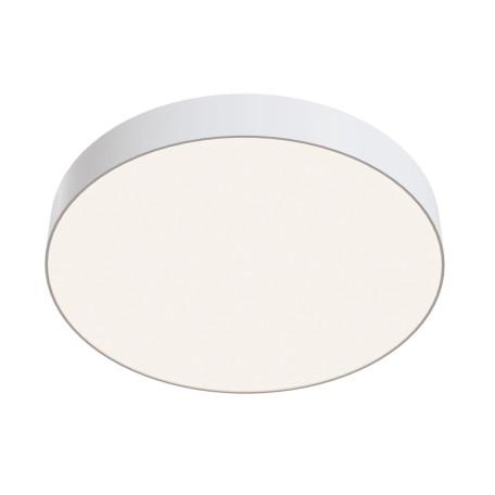Потолочный светодиодный светильник Maytoni Zon C032CL-L48W4K, IP22, LED 44W 4000K 4200lm CRI90, белый, металл со стеклом/пластиком