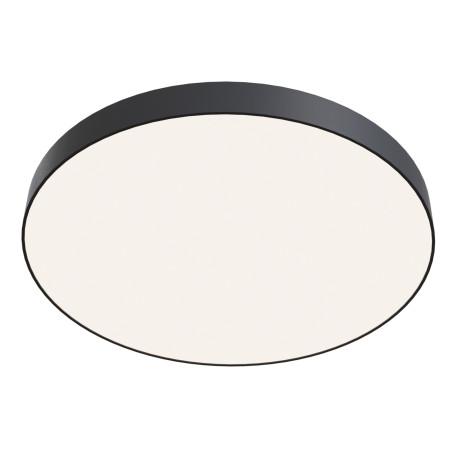 Потолочный светодиодный светильник Maytoni Zon C032CL-L96B4K, IP22, LED 96W 4000K 9500lm CRI90, черный, металл с пластиком