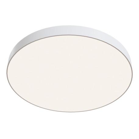 Потолочный светодиодный светильник Maytoni Zon C032CL-L96W4K, IP22, LED 96W 4000K 9500lm CRI90, белый, металл со стеклом/пластиком