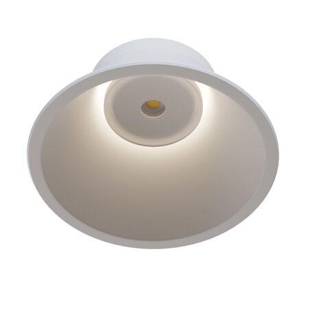 Встраиваемый светодиодный светильник Maytoni Stella DL039-L15W4K, LED 14W 4000K 850lm CRI80, белый, металл