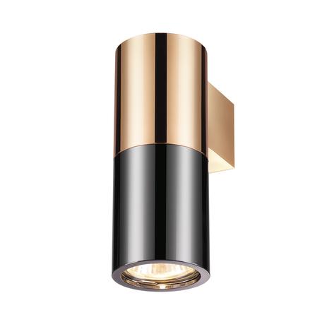 Настенный светильник Odeon Light Duetta 3583/1W, 1xGU10x50W, медь, черный, металл
