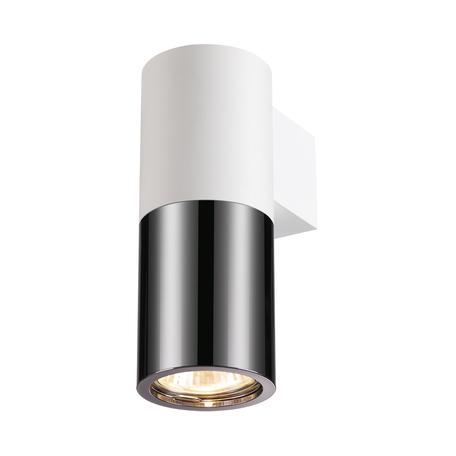 Настенный светильник Odeon Light Hightech Duetta 3834/1W, 1xGU10x50W, белый, черный с белым, металл
