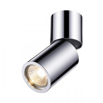 Потолочный светильник с регулировкой направления света Odeon Light Duetta 3827/1C, 1xGU10x50W, хром, металл