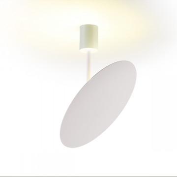 Потолочный светодиодный светильник с регулировкой направления света Odeon Light Whittaker 3844/12CL 4000K (дневной), белый, металл