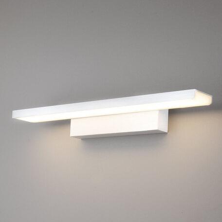 Настенный светодиодный светильник для подсветки картин Elektrostandard Sankara a038372, LED 16W 4200K 1200lm, белый, металл, металл со стеклом/пластиком