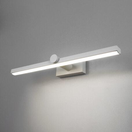 Настенный светодиодный светильник для подсветки картин Elektrostandard Ontario LED белый (MRL LED 1006), LED 12W 4200K 850lm, белый, металл