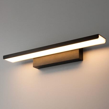 Настенный светодиодный светильник для подсветки картин Elektrostandard Sankara a037485, LED 16W 4200K 1200lm, черный, металл, металл со стеклом/пластиком