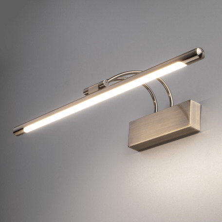 Настенный светодиодный светильник для подсветки картин Elektrostandard Simple LED бронза (MRL LED 10W 1011 IP20) 10W, LED 10W 4200K 560lm, бронза, металл
