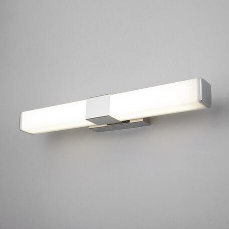 Настенный светодиодный светильник Elektrostandard Protera LED хром (MRL LED 1008), IP44, LED 12W 4200K 850lm, хром, белый, металл, пластик