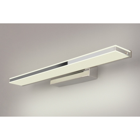 Настенный светодиодный светильник Elektrostandard Tabla LED хром (MRL LED 1075), LED 9W 4000K 700lm, хром, белый, металл, пластик