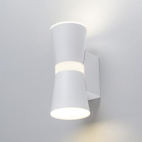 Настенный светодиодный светильник Elektrostandard Viare LED белый (MRL LED 1003), LED 12W 4200K 600lm, белый, металл
