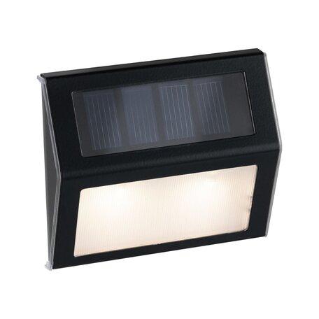 Настенный светодиодный светильник Paulmann Solar Way Dayton 94234, IP44, LED, черный