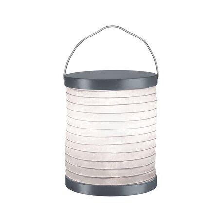 Садовый светодиодный светильник Paulmann Mobile Lampion 94226, IP44, LED, серый, белый