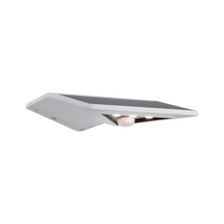 Светодиодный светильник-указатель Paulmann Solar Yoko 94244, IP44, LED 1,2W, серый, пластик