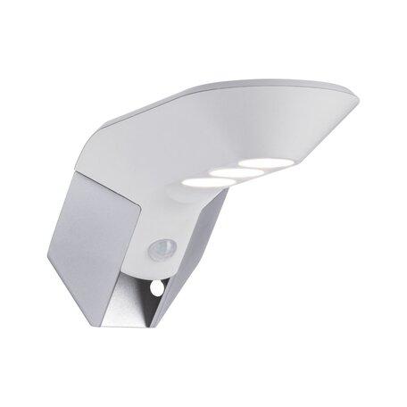 Светодиодный светильник-указатель Paulmann Solar Soley 94251, IP44, LED 1,22W, белый, металл с пластиком