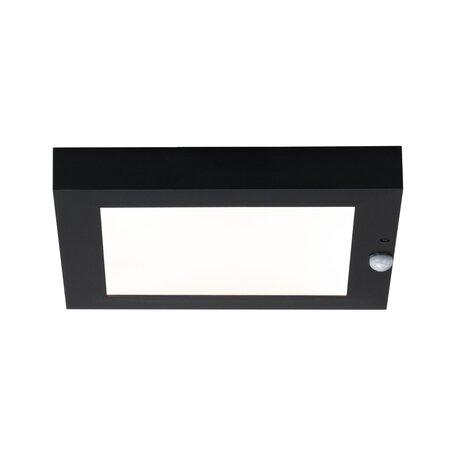 Светодиодный светильник-указатель Paulmann Outdoor Board Panel 94254, IP44, LED 9W, серый, металл с пластиком