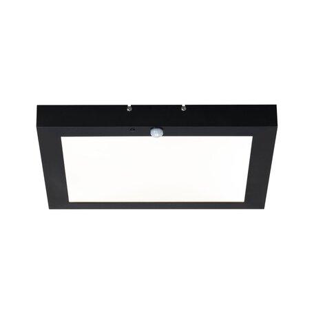 Светодиодный светильник-указатель Paulmann Outdoor Board Panel 94255, IP44, LED 10W, серый, металл с пластиком