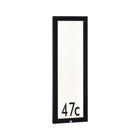 Светодиодный светильник-указатель Paulmann Outdoor Board Panel 94257, IP44, LED 19W, серый, металл с пластиком