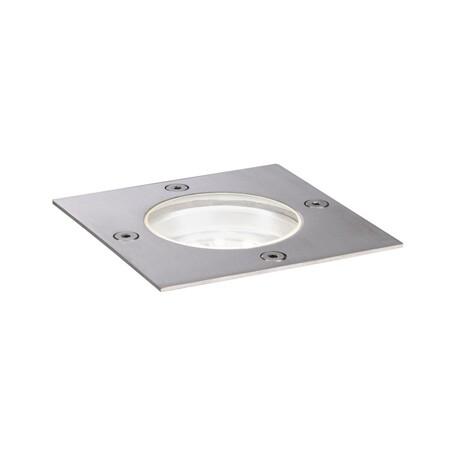 Встраиваемый в уличное покрытие светодиодный светильник Paulmann Outdoor Plug & Shine Floor 94230, IP65, LED 3,6W, сталь, металл