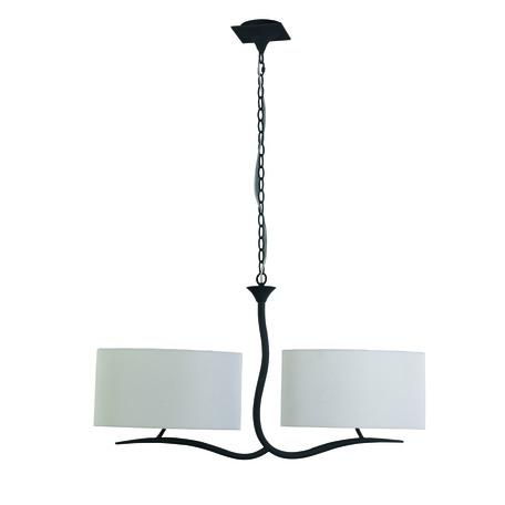 Подвесной светильник Mantra Eve 1150, серый, бежевый, металл, текстиль