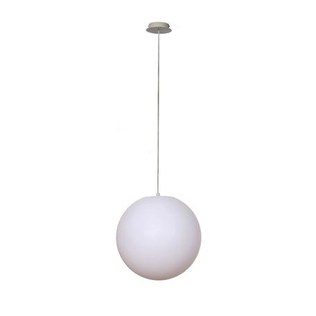 Подвесной светильник Mantra Ortos 1397, IP44, белый, металл, пластик