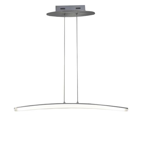 Подвесной светильник Mantra Hemisferic 4081, алюминий, белый, металл, пластик