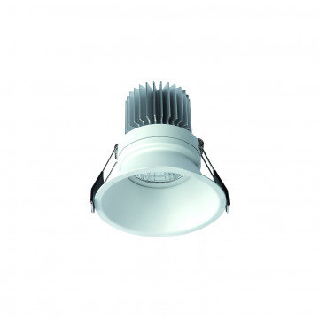 Встраиваемый светильник Mantra Formentera C0071, белый, металл