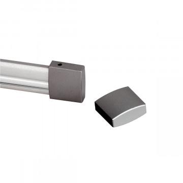 Концевая заглушка для гибкого токопровода SLV EASYTEC® II 184142, серебро