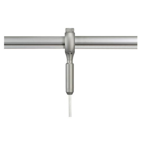 Крепление-адаптер для монтажа светильника на гибкий токопровод SLV EASYTEC® II 184292, серебро