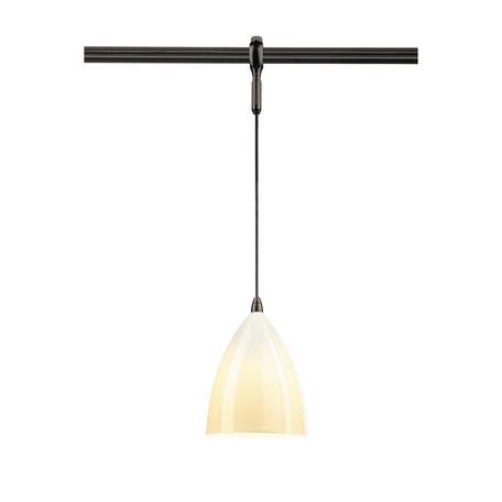 Подвесной светильник для гибкой системы SLV EASYTEC II®, TONGA PD 184530, 1xE14x60W, черный, белый