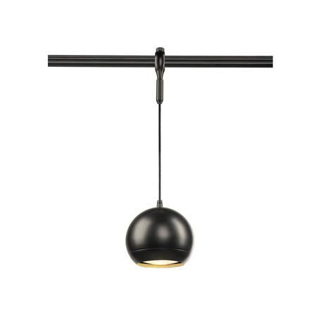 Подвесной светильник для гибкой системы SLV EASYTEC II®, LIGHT EYE® 150 PD 184590, 1xGU10x75W, черный