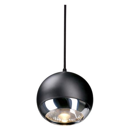 Подвесной светильник для гибкой системы SLV EASYTEC II®, LIGHT EYE® 150 PD 185590, 1xGU10x75W, хром, черный