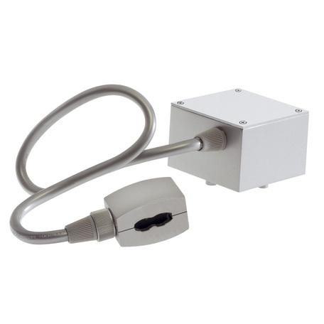 Подвод питания для гибкой системы освещения SLV EASYTEC® II 184002, серебро, металл